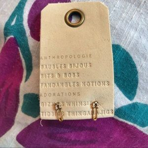 Anthropologie safety pin earrings